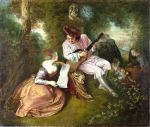 The Love Song, Watteau