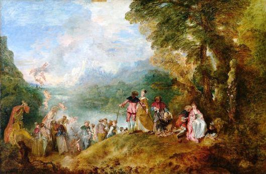 L'Embarquement pour Cythère, Jean-Antoine Watteau