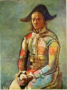Seated Harlequin, 1923