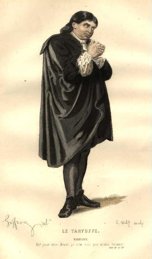 Tartuffe (Photo credit: Wikipedia)