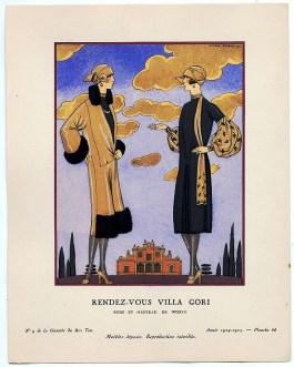 Rendez-vous Villa Gori by George Barbier