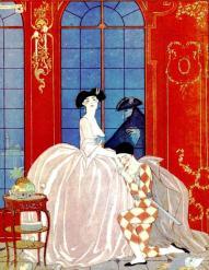 La Vénitienne, George Barbier