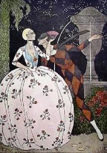 Harlequin, George Barbier
