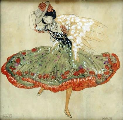 La Belle Otéro, Leo Rauth, 1910
