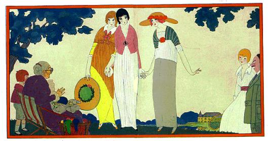 Robes neuves, Georges Lepage