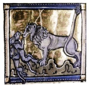 Bodleian Library, MS. Douce 308, Folio 96v