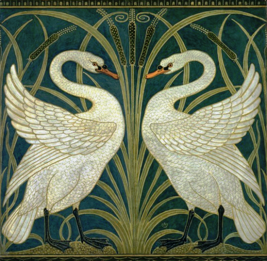 Swans by Walter Crane
