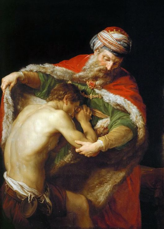 The Return of the Prodigal Son, Pompeo Batoni, 1773 (Photo credit: Wikipedia)