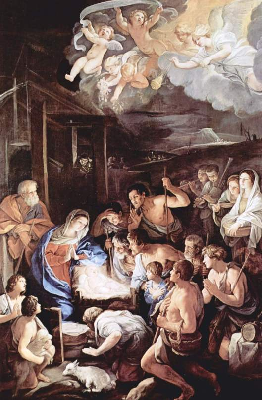 The Adoration of the Shepherds (Photo credit: WikiArt.org)