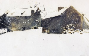 Snow , by Andrew Wyeth