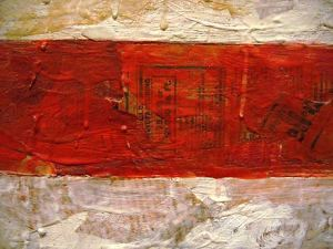 Jasper_Johns,_Flag_(detail)