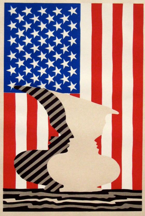 Flag Vase, Jasper Johns, Joseph K Levene Fine Art, Ltd