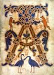 Beatus de Saint-Sever. Manuscrit copié à Saint-Sever, XIe siècle, avant 1072  BNF, Manuscrits, Latin 8878 fol. 14