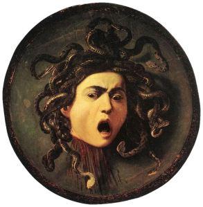 Medusa, by Caravaggio