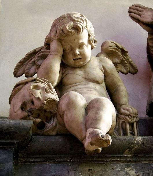 Tombeau du chanoince Luc Gillain, cathédrale d'Amiens