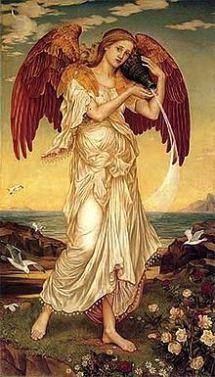Eos, by Evelyn De Morgan, the Pre-Raphaelite