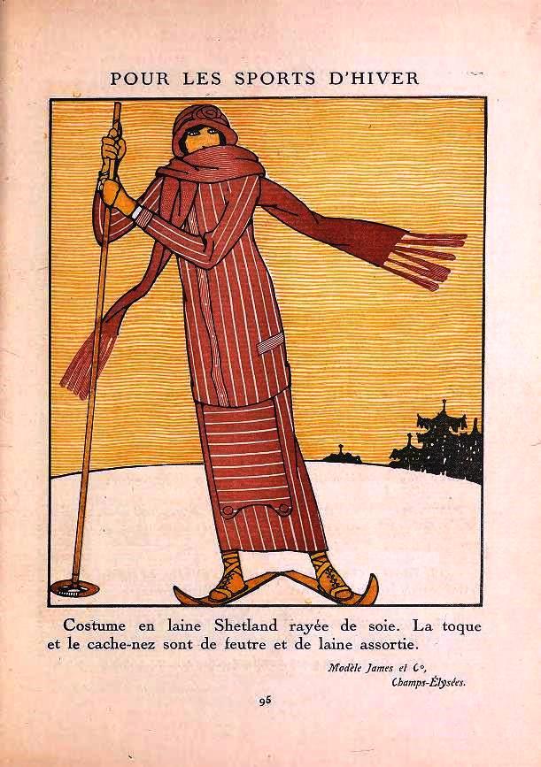 Winter, Gazette du bon ton