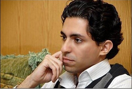 Photograph of Raif Badawi by his wife, Ensaf Haidar, for Amnesty on her husband's case.
