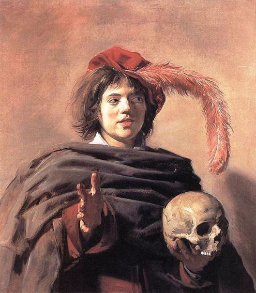 Frans_Hals,_Young_Man_with_a_Skull_(Vanitas)