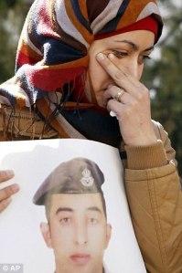 Anwar al-Tarawneh, a grieving wife