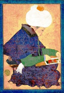Portrait of a Painter, Ottoman Dynasty