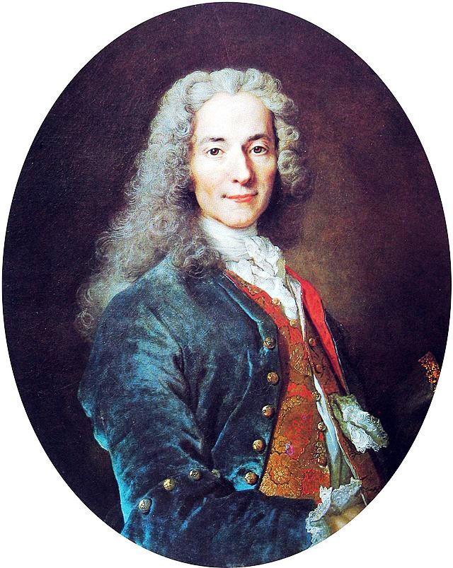 François Marie Arouet, dit Voltaire, c. 1724-1721