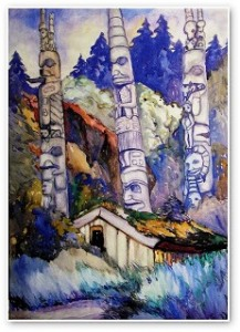 Haida Totems by Emily Carr