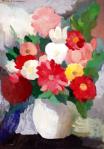 Vase de fleurs, Marie Laurencin, 1950