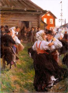 Midsummer Dance by Anders Zorn, 1897 (Photo credit: Wikipedia)