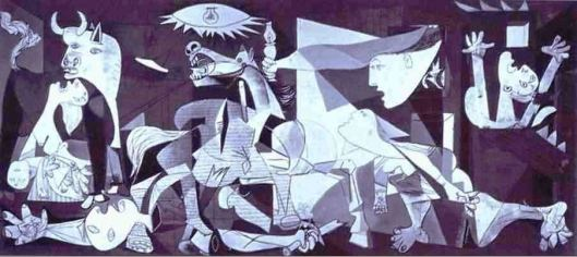 Guernica by Picasso (Photo credit: abcgallery.com)