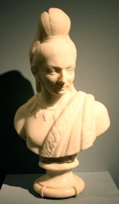Hiawatha, by Edmonia Lewis, marble, 1868, Newark Museum.