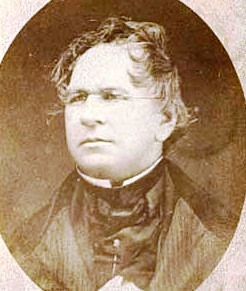 Henry Schoolcraft by Beal Brothers, 1855 (Photo credit: Wikipedia