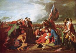 Death of Wolfe by Benjamin West
