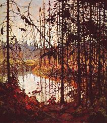 Landscape by Tom Thomson 1915