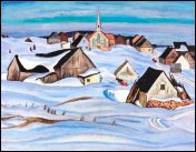 A Quebec Village (Photo credit: Heffel Gallery)