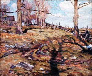 The Edge of the Maple Wood by A. Y. Jackson, 1910 (Photo credit: wikiart.org)