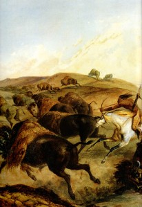 indians-hunting-the-bison-left-1832