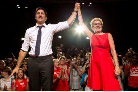 With Kathleen Wynne, Ontario Premier