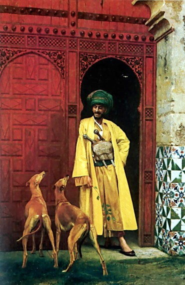 an-arab-and-his-dog