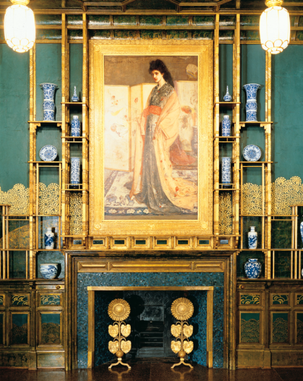 The Peacock room, The Princess from the land of porcelain by William McNeill Whistler (Photo credit: Wikipedia)