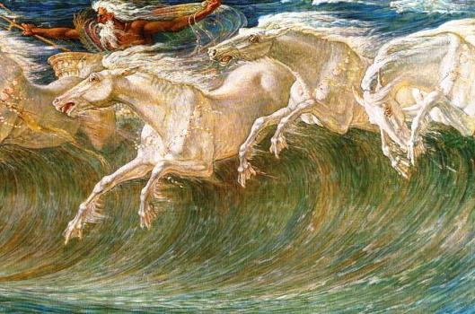 Walter Crane - Neptune's Horses