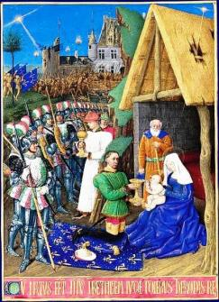 Charles of Orléans as Magi by Jean Fouquet (Google)