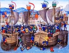 Battle of Sluys, 1340