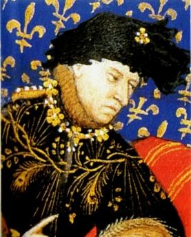 Charles VI by le maître de Boucicaut