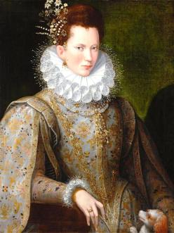 Portrait of a Lady at Court, 1580