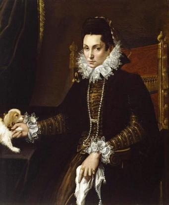 Portrait of Ginevra Aldrovani Hercolani, 1595