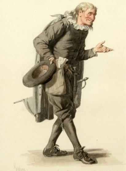 Monsieur Loyal, Tartuffe by Edmond Geffroy