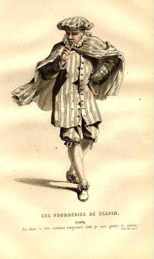 Scapin, Edmond Geffroy