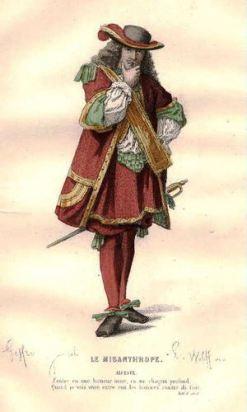 Alceste, Le Misanthrope