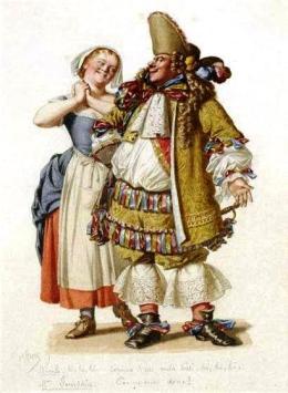 Monsieur Jourdain, Le Bourgeois gentilhomme